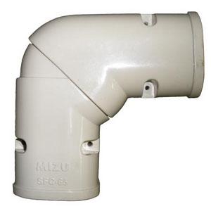 ข้องอ แบบสไลด์ 75 mm แบบสามารถปรับองศาได้