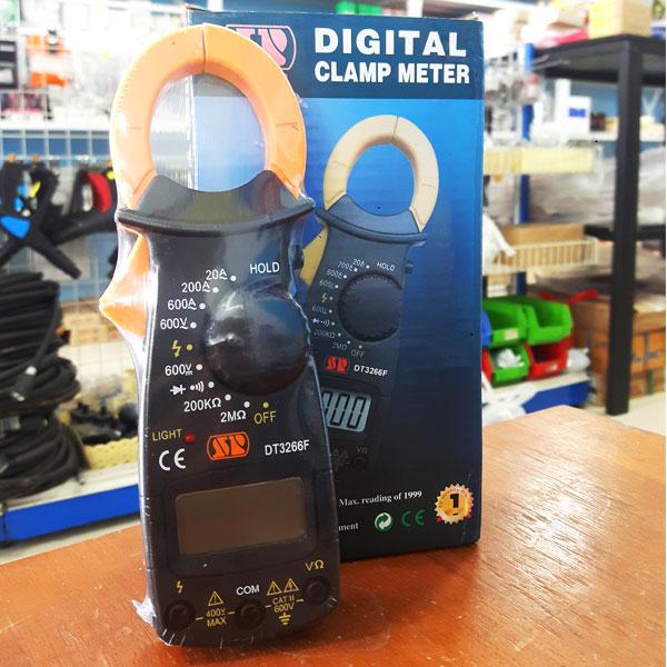 ดิจิตอลคลิปแอมป์ SP เครื่องวัดการกินไฟของกระแสไฟฟ้า