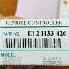 รีโมทแอร์ Mitsubishi เลข E12 H33 426 ของแท้จากศูนย์
