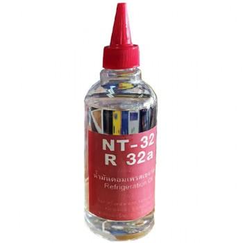 น้ำมันคอมเพรสเซอร์ R-32a รุ่น NT-32 ขวดใสขนาด 200cc
