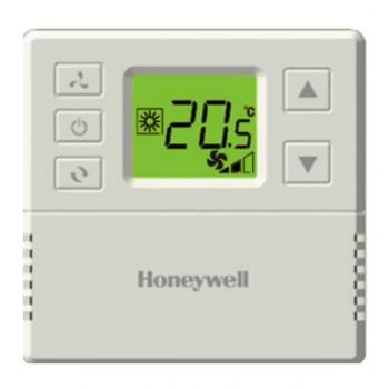 รูมเทอร์โม (รีโมทแอร์มีสาย) Honeywell รุ่น T6818DP08 หน้าจอแบบ Digital LCD
