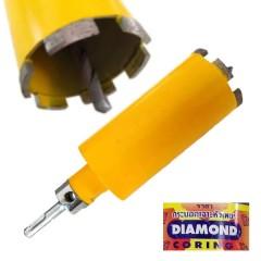 โฮลซอเจาะ Diamond ขนาด 2.5 นิ้ว กระบอกเจาะหัวเพชร ผนังคอนกรีต