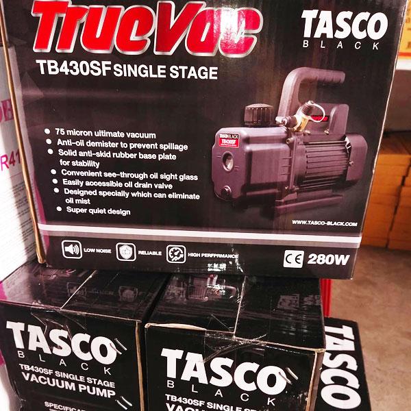 แวคคั่มปั๊ม TASCO เครื่องแว็คคั่มรุ่น TB430SF ซีรีย์ใหม่ มอเตอร์ทองแดง 100%
