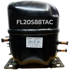 คอมเพรสเซอร์ตู้แช่ ฮิตาชิ (Hitachi) รุ่น FL20S88TAC น้ำยาแอร์ R134a อุปกรณ์ครบ Serial 07383