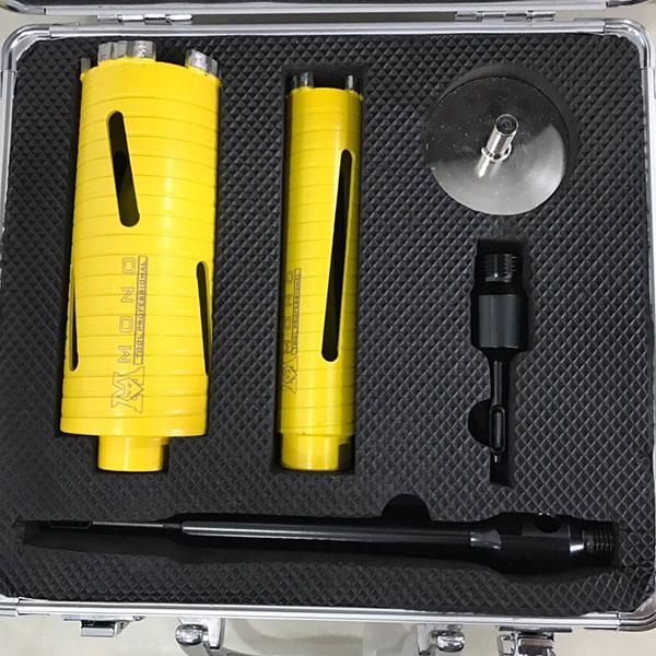 โฮลซอ MONO เกรดพรีเมี่ยม เจาะได้ทั้งท่อแอร์ ท่อน้ำ และกระจก มาในชุดพร้อมกล่องจัดเก็บ