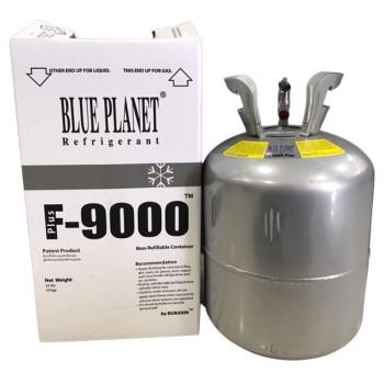 น้ำยาล้างระบบ F-9000 PLUS ขนาดถัง 10 กก. ยี่ห้อ Blue Planet จำหน่ายยกถัง ระบบเครื่องปรับอากาศ