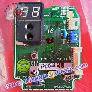 แผงวงจร ตัวรับสัญญาณ เมนบอร์ดแอร์ Samsung Forte PJT DB93 (แบบมีตัวเลข)
