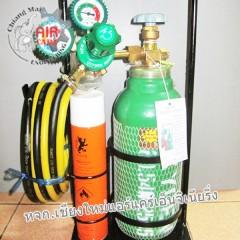 ชุดเชื่อมสนามขนาด 0.5Q แก๊สกระป๋อง อะไหล่ช่างแอร์ สะดวกใช้งานง่าย